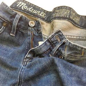 Madewell Jeans - Skinny Skinny